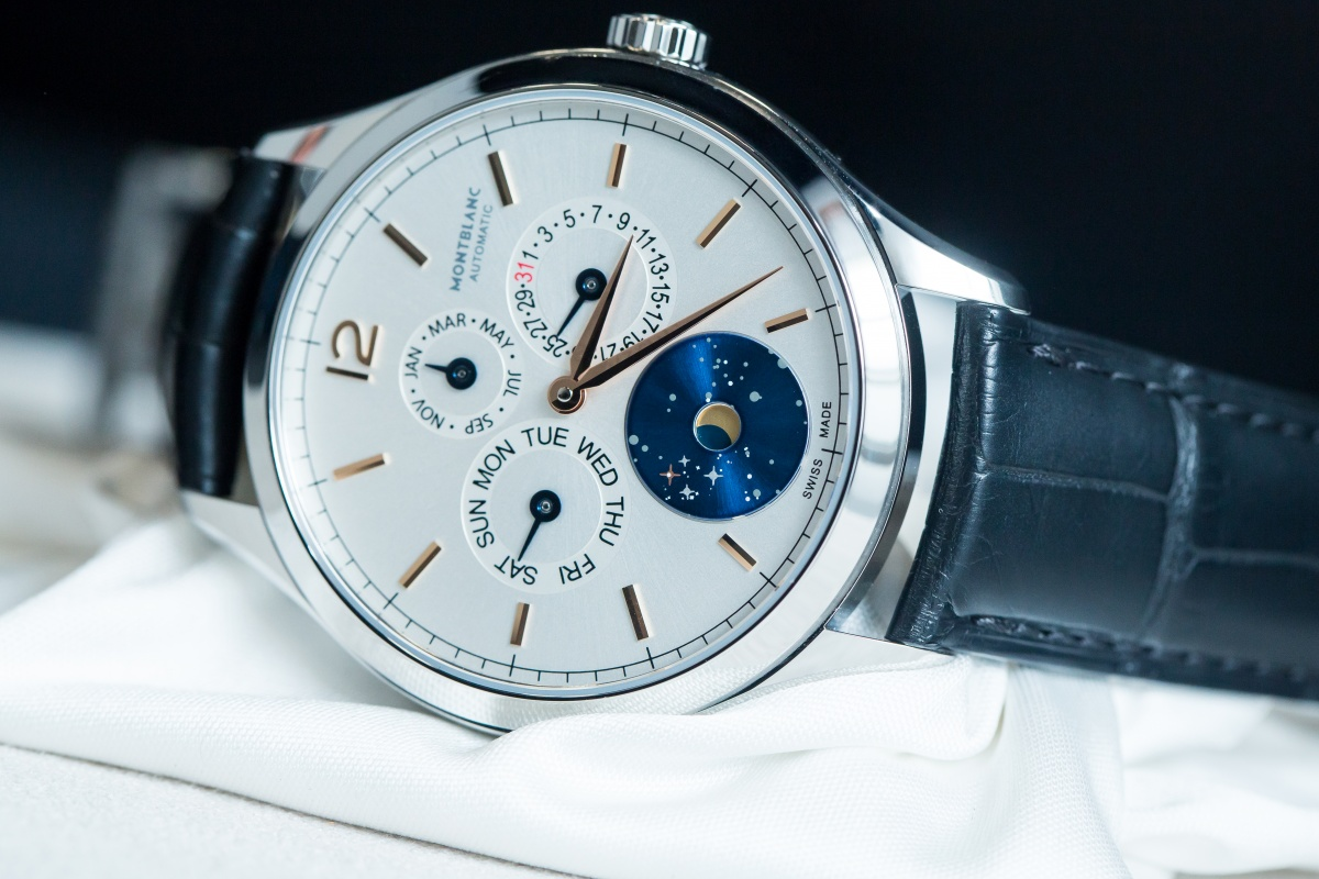 Hands on the montblanc annual calendar vasco da gama swiss ap watches blog for Vasco watches