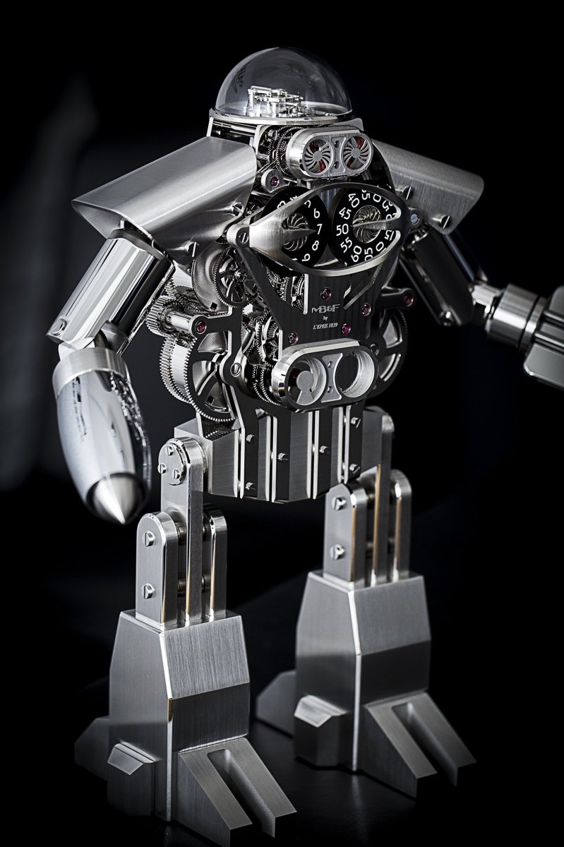 MB&F Melchior Robot Clock Baselworld 2015