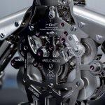 MB&F Melchior Robot Clock Baselworld 2015