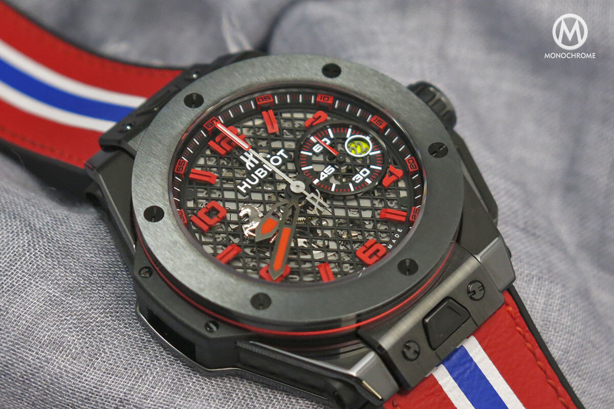 industry does adds ferrari cost how ferraris watch much watchtime wristwatch news gold of fleet king bang lg hublot bbf kinggoldcarbon watches a carbon big