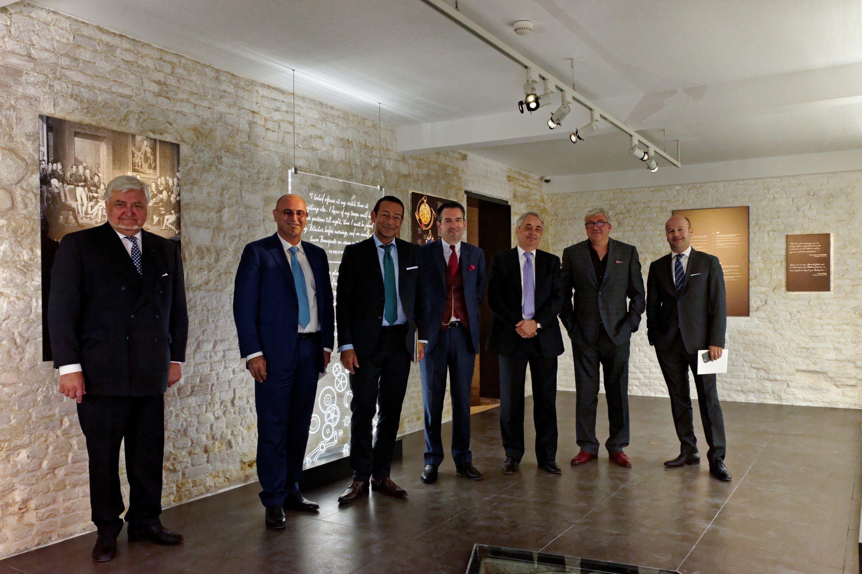 Marc A. Hayek, Breguet President & CEO en Breguet Vertegenwoordigers