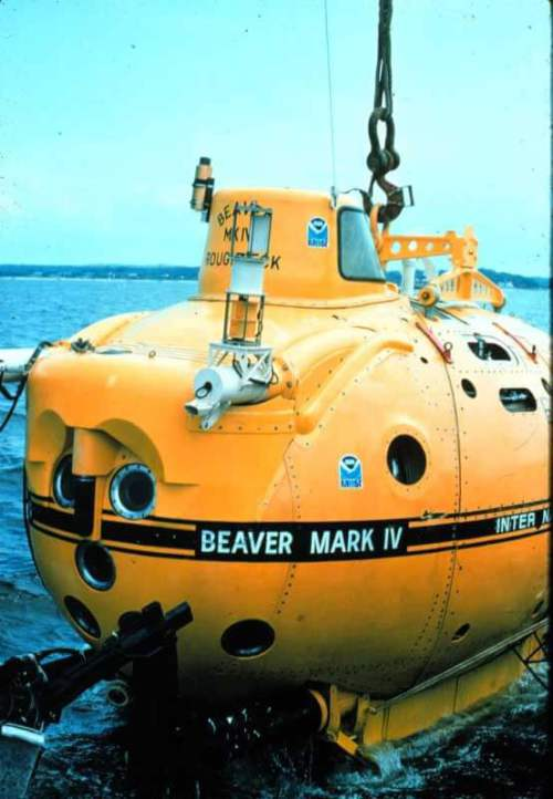 Beaver IV with seamaster 1000