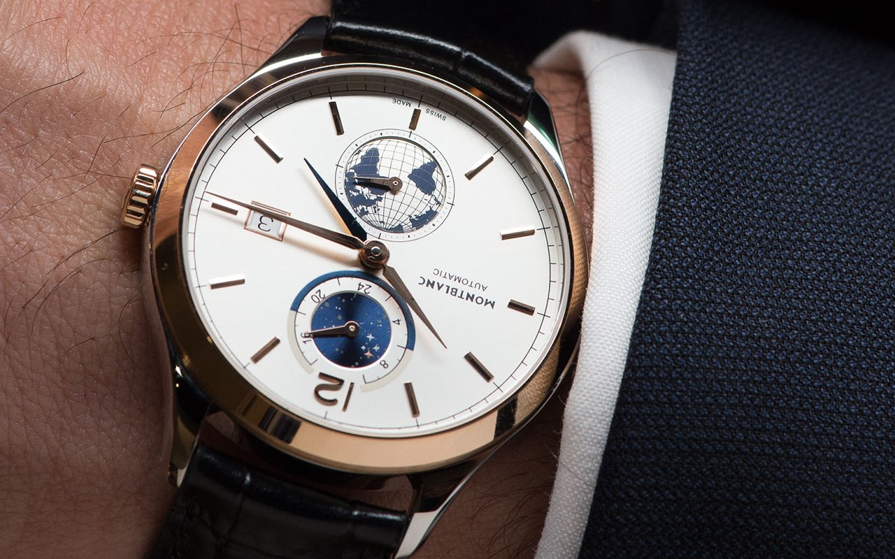 Introducing the montblanc heritage chronom trie dual time vasco da gama limited edition 238 with for Vasco watches