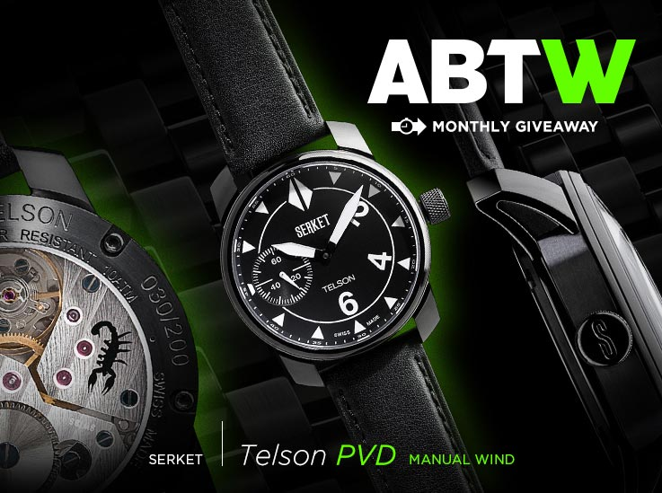 WATCH GIVEAWAY: Serket Telson PVD Manual Wind Giveaways