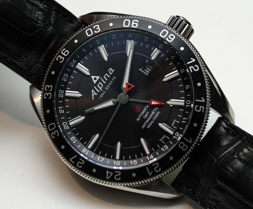 Alpina Alpiner GMT Watch HandsOn Swiss AP Watches Blog - Alpina gmt