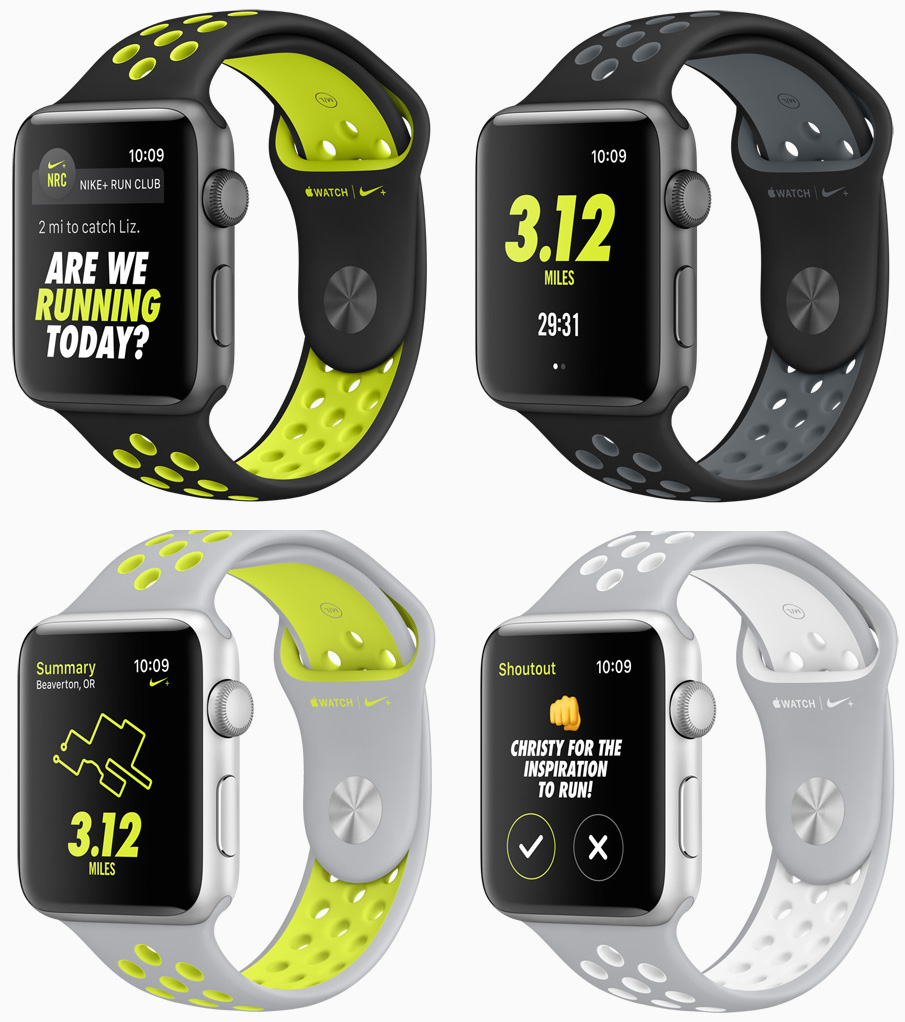 Apple Watch series 2 nike edition in