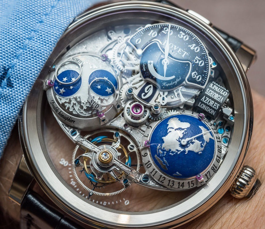 Bovet Recital Shooting Star Watch HandsOn Swiss AP Watches Blog - Star map watch