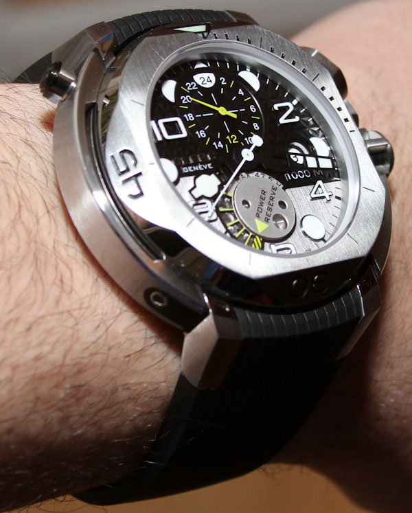 Clerc Hydroscaph GMT Watch Review Swiss AP Watches Blog