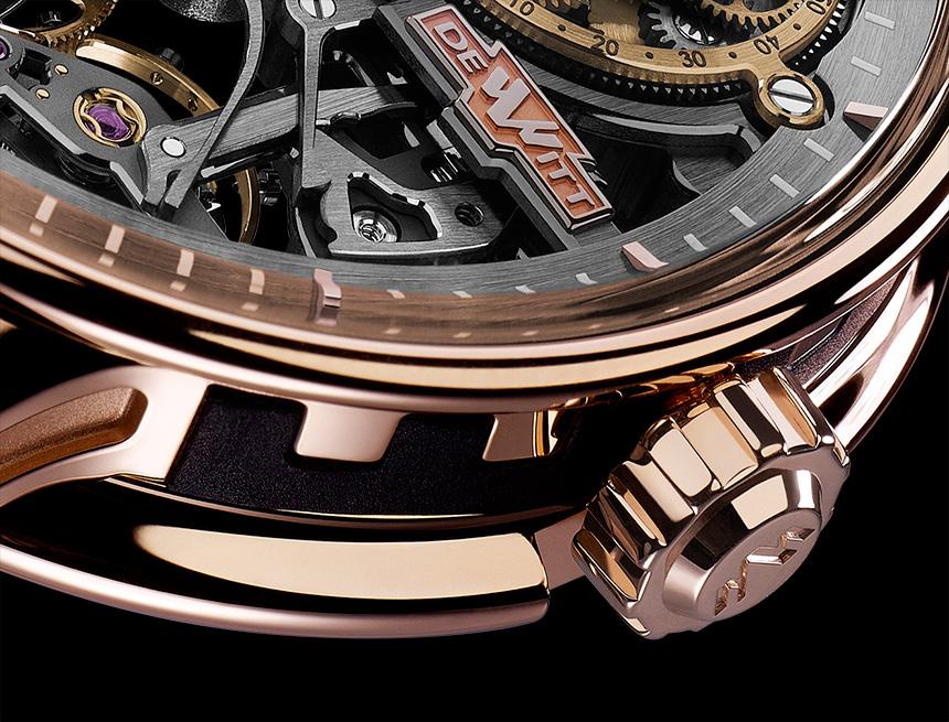 DeWitt Academia Skeleton Watch Swiss AP Watches Blog