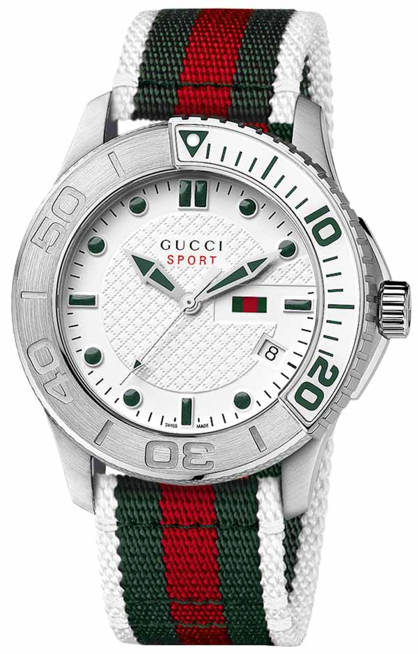 f60a3fcc4ec Gucci G-Timeless Sport Watch - Swiss AP Watches Blog