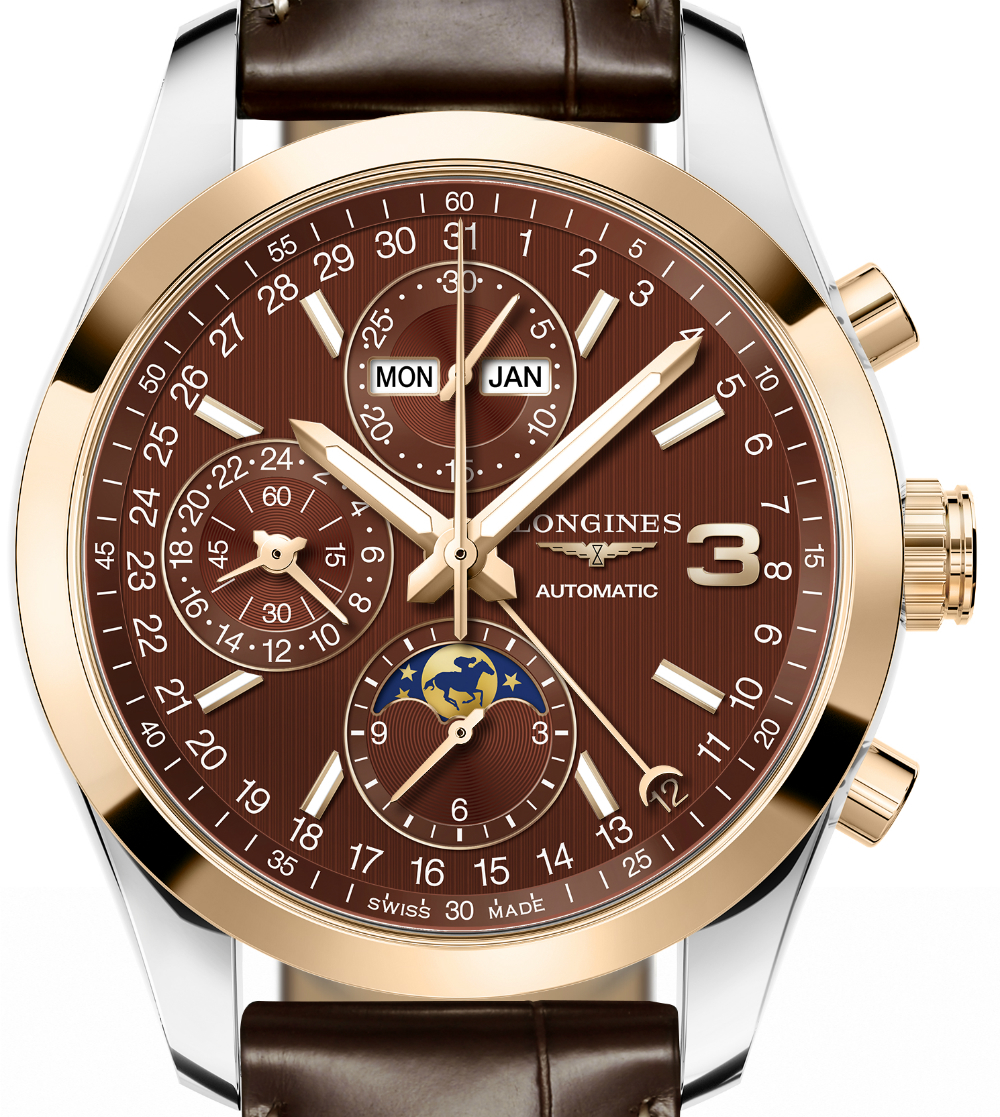 Longines Conquest Classic Triple Crown Limited Edition Watch Watch Releases