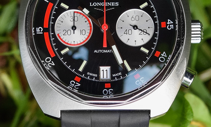 Longines Heritage Diver Chronograph Watch Review Wrist Time Reviews