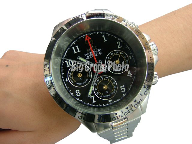 Think You Know Large Wrist Watches? See The MUSK MR2129