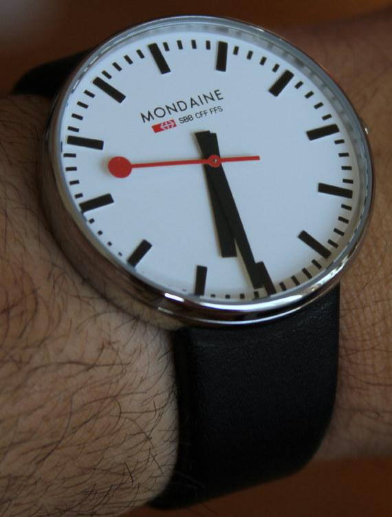 Mondaine Railway Giant Watch Review - Swiss AP Watches Blog 4b0c99f03409