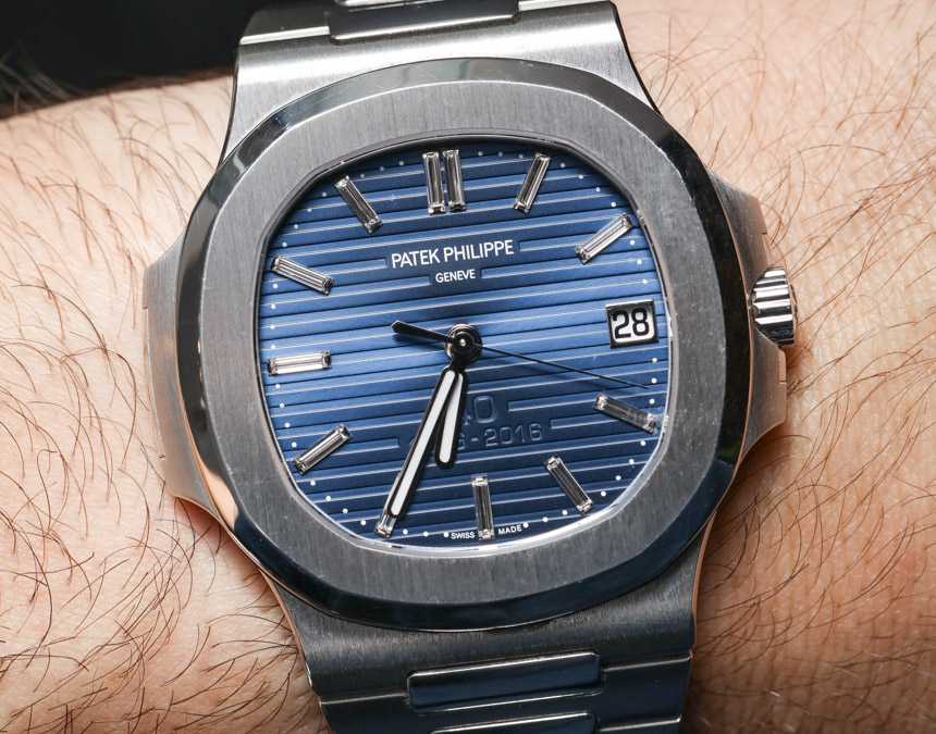 Patek Philippe Nautilus 40th Anniversary 5711 1p Platinum Watch