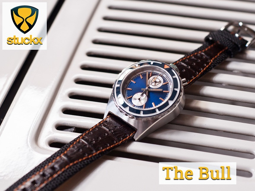 f99aea5085a Why Stuckx Watches Chose A Seiko Automatic Chronograph Over The Swiss ETA  Valjoux 7750 Movement Watch