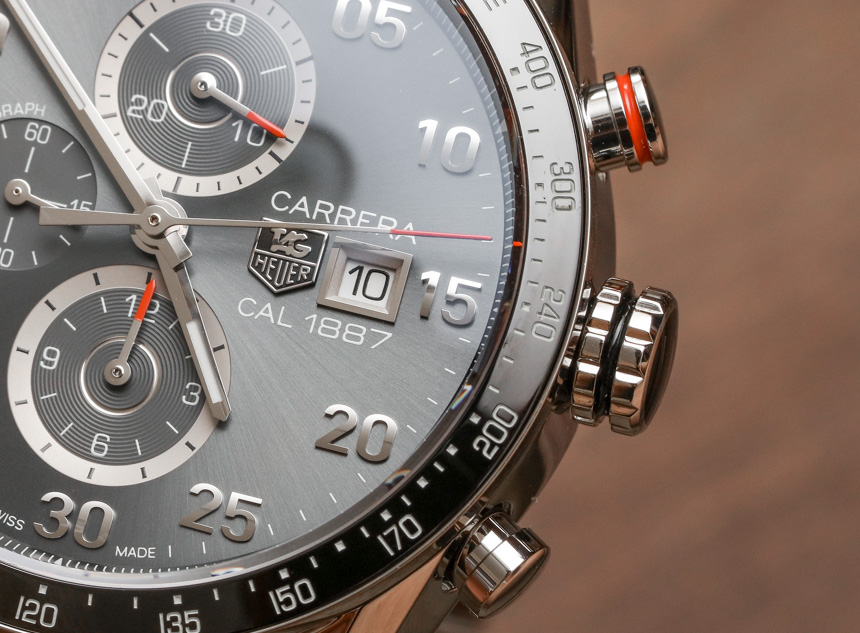 TAG Heuer Carrera 1887 Automatic Chronograph Compared To Carrera Heuer 01 Watch Review Wrist Time Reviews