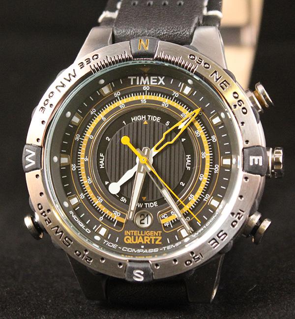 ef54af2b9622 Timex Intelligent Quartz Tide Temp Compass   Perpetual Calendar Watch  Reviews