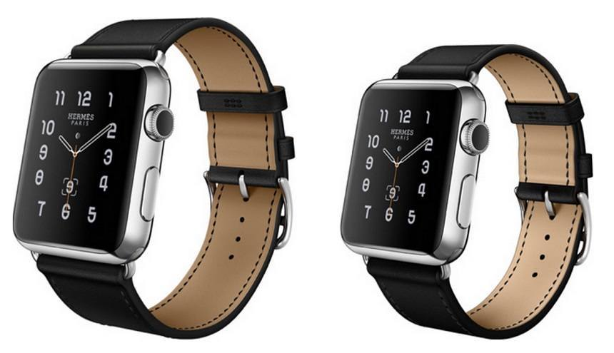 cadran apple watch hermes