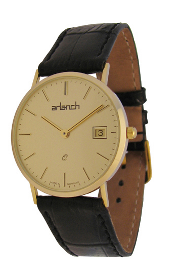 Swedish Arlanch Gold Watch No 1 Is Eco Friendly-ish, Little In More Ways Than One Watch Releases