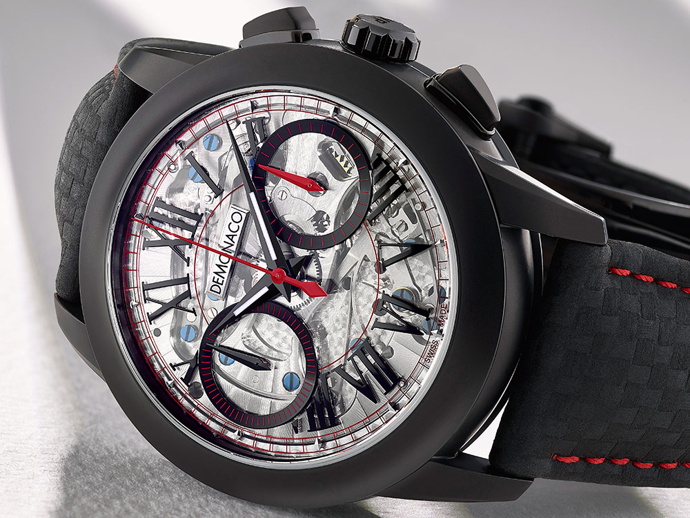 Ateliers DeMonaco Admiral Chronographe Flyback Armure Watch Watch Releases