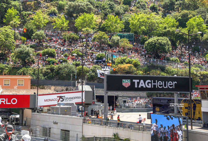 2017 Monaco Grand Prix With TAG Heuer Watches Feature Articles