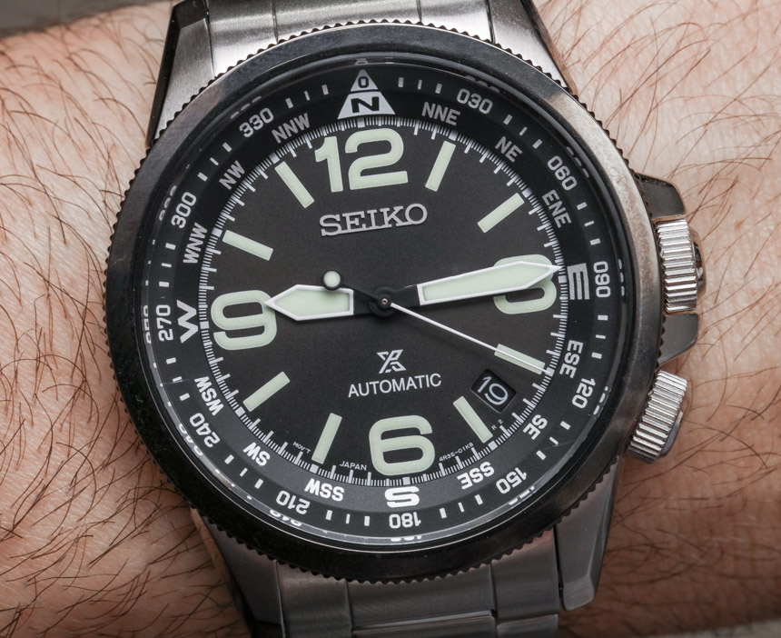 Seiko Prospex SRPA71 Land Automatic Watch Review Wrist Time Reviews
