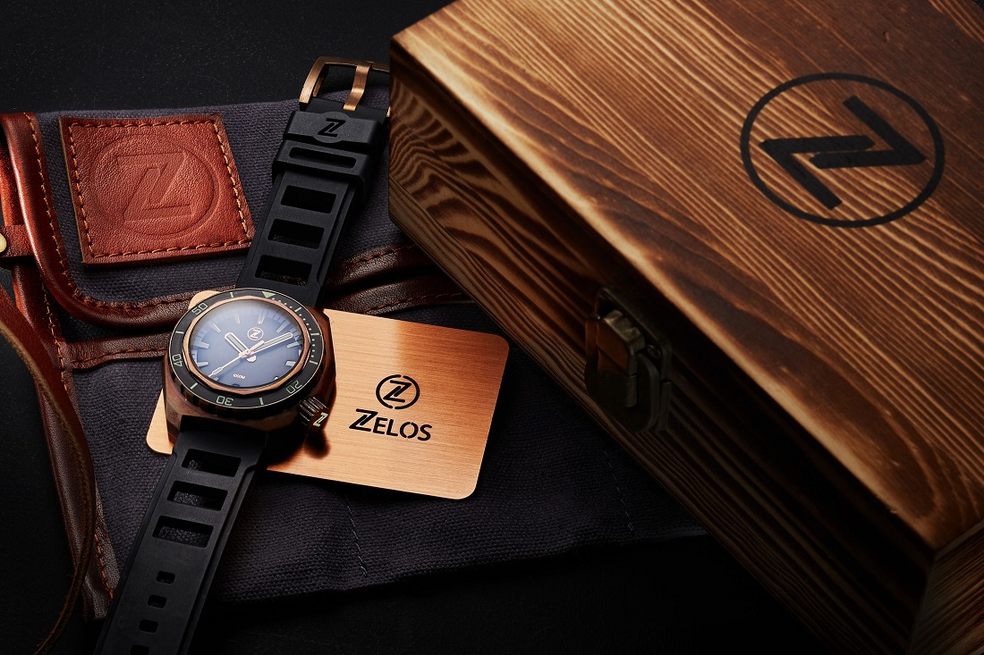 The Zelos Hammerhead Dive Watch: Now In 5 New Colorways Watch Releases