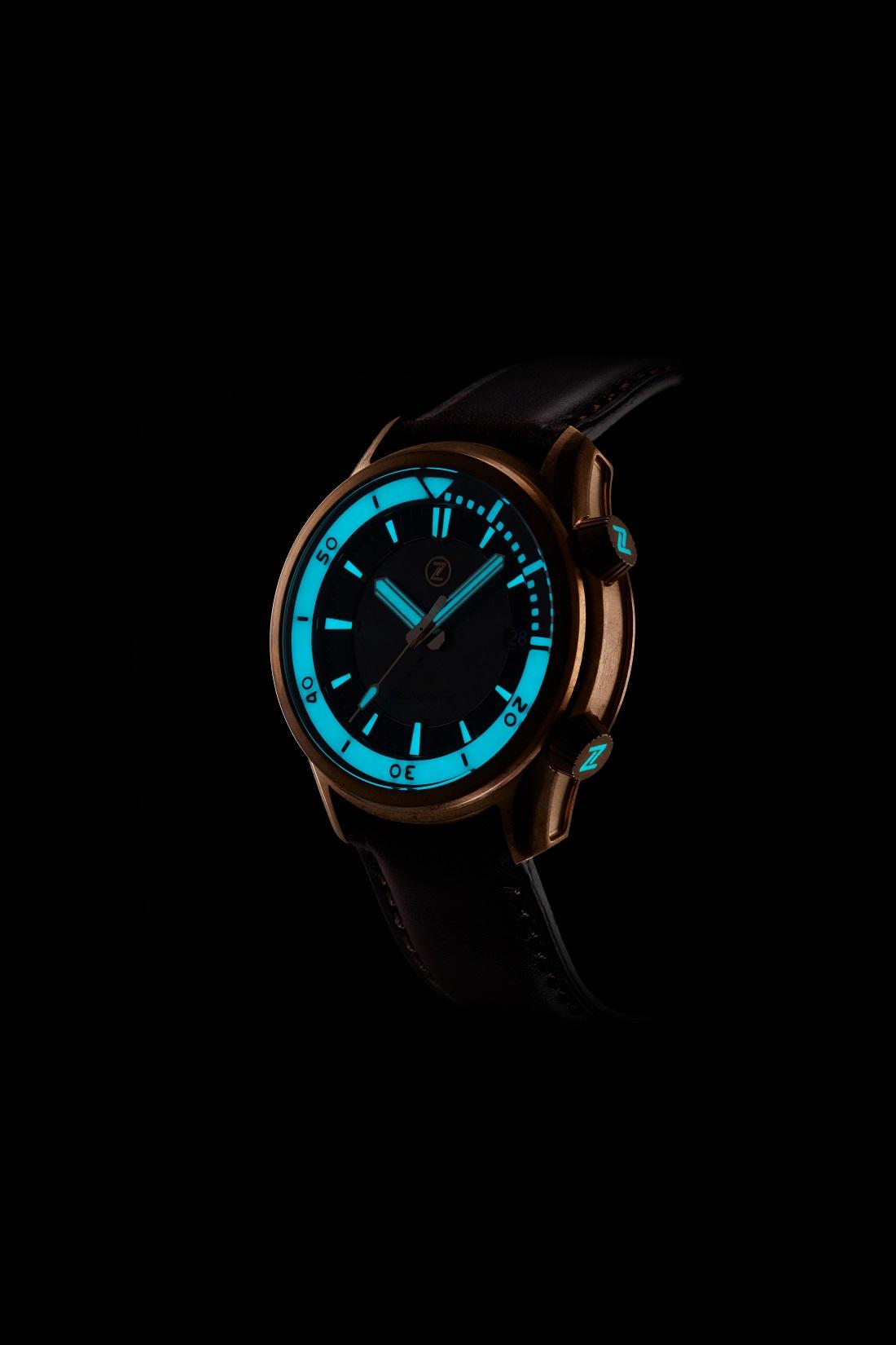 Zelos Helmsman 2 Dive Watch Watch Releases