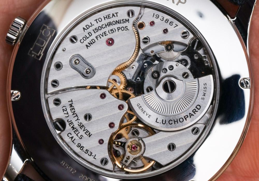 Chopard L.U.C XP Ref. 168592-3001 Watch Hands-On Hands-On