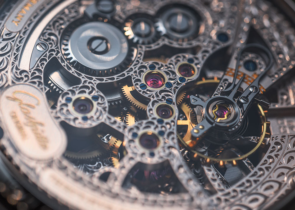 Glashütte Original Senator Moon Phase Skeletonized Edition Watch Hands-On Hands-On