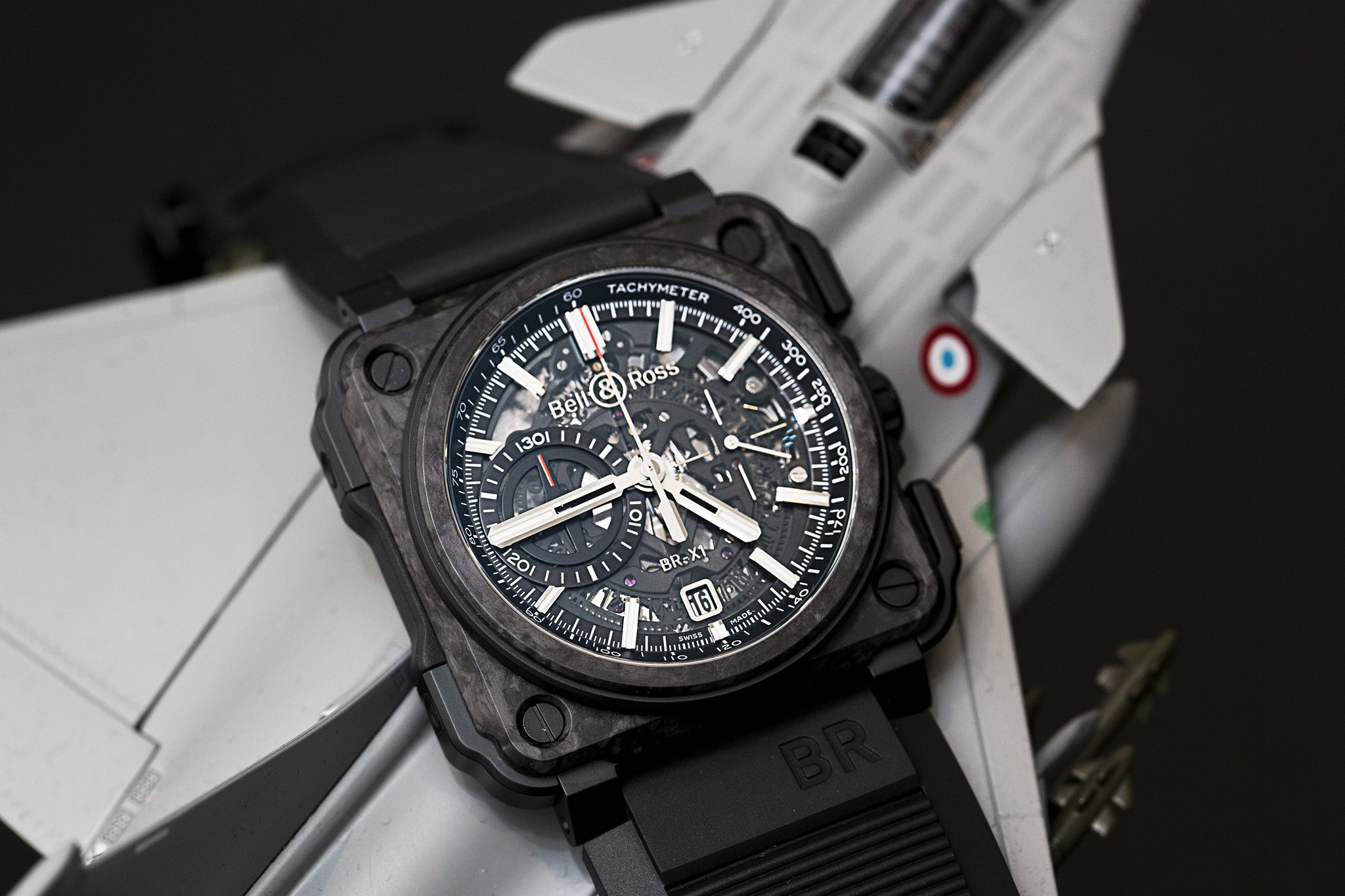 Bell And Ross X1 Carbon Forge