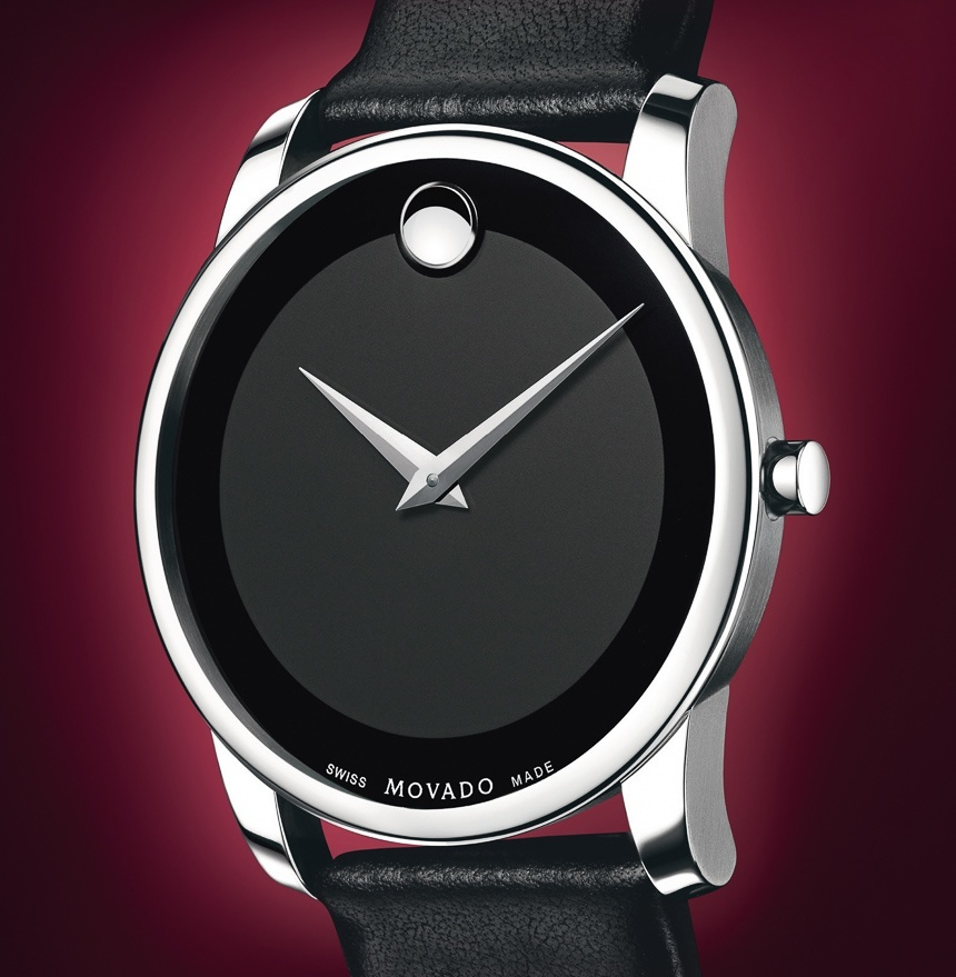 df04fa960 ... Movado Museum Dial Watch Ready For A Return? Movado Thinks So: Its  History & Horwitt's Struggle