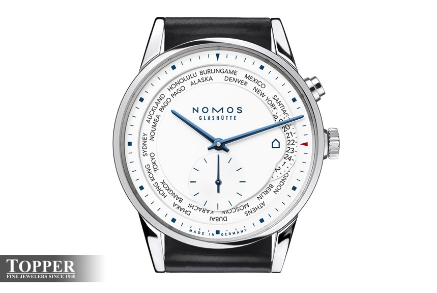 Nomos archives swiss ap watches blog topper fine jewelers is thrilled to announce our second limited edition nomos glashtte timepiece the nomos zurich worldtimer topper edition thecheapjerseys Gallery