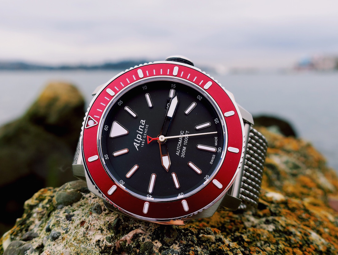 Alpina Seastrong Diver Automatic Watch Review Swiss AP Watches - Alpina watch reviews