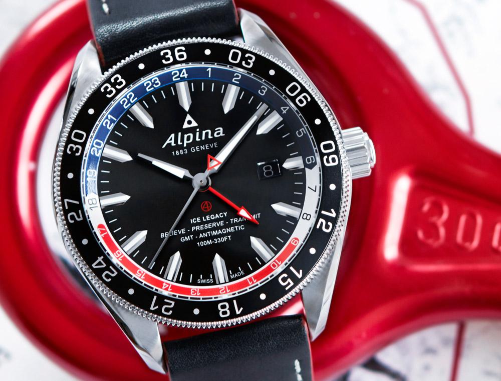 Alpina Alpiner GMT Business Timer Watch Swiss AP Watches Blog - Alpina gmt