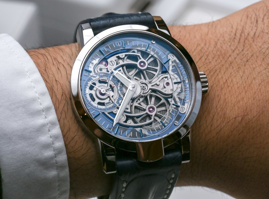 watches breguet classique hands on tourbillon perpetual complications pin skeletonized