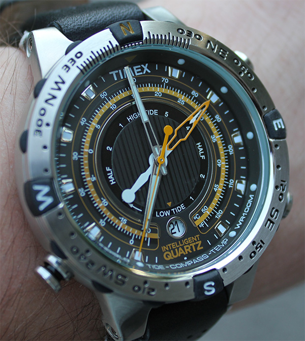 55573fe91bdb Timex Intelligent Quartz Tide Temp Compass   Perpetual Calendar Watch  Reviews - Swiss AP Watches Blog