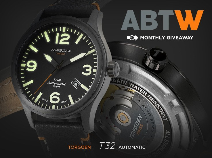 4ef41e7a4e1 Watch Winner Announced  Torgoen T32 Automatic - Swiss AP Watches Blog