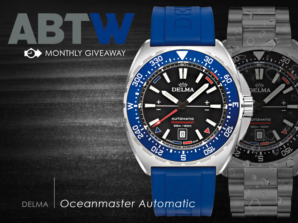 3a3fb4ea5e3 ... Winner Announced  Delma Oceanmaster Automatic Watch Giveaway ...