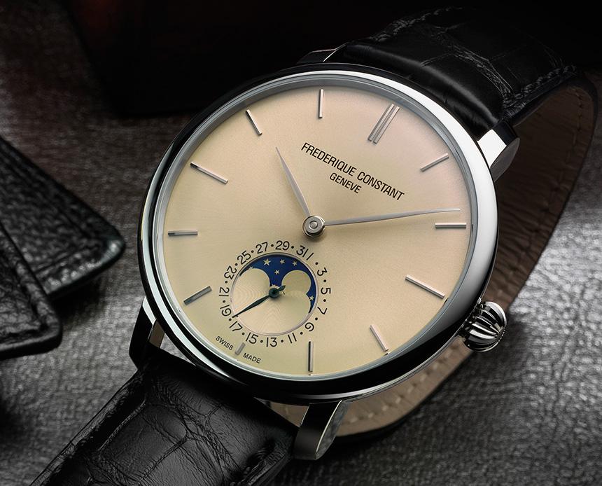 Frederique Constant Slimline Moonphase Manufacture Watch - Swiss AP ... c978b1753e5d