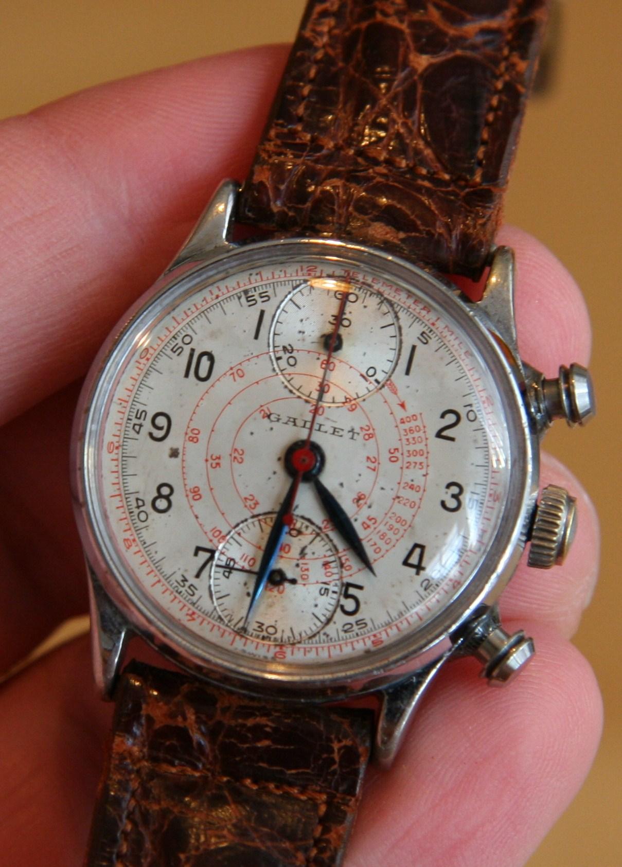Vintage watch blog sorry