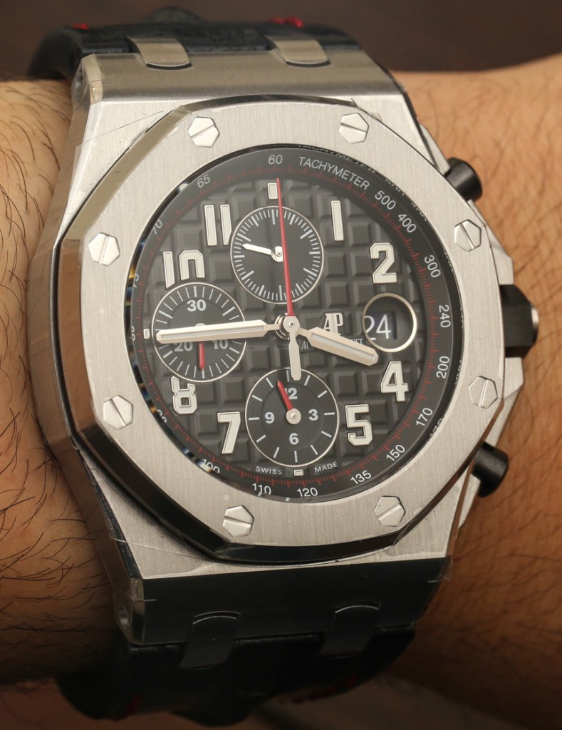 Audemars piguet royal oak offshore 42mm watches swiss ap watches blog for Ap royal oak offshore chronograph