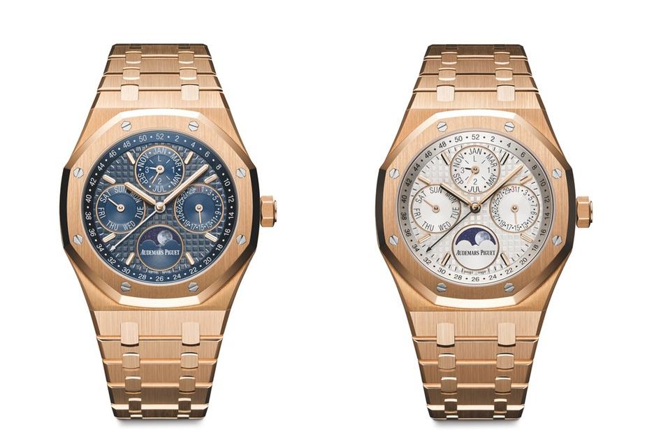 Audemars Piguet launched the new watch Royal Oak Perpetual Calendar Ref 26574