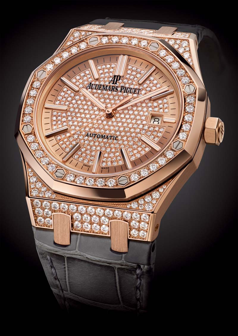 Audemars Piguet Royal Oak women's diamonds watch