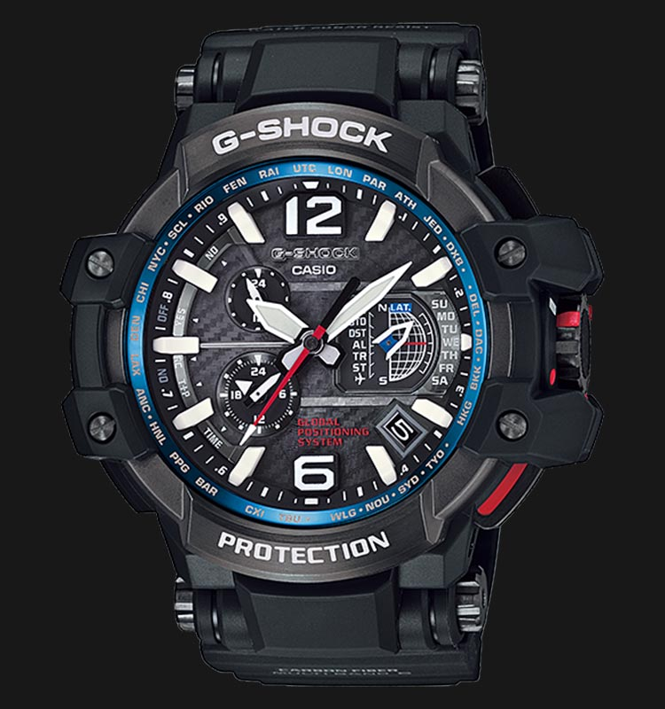 Casio Unveiled The First GPS Timepiece-G-shock GPS