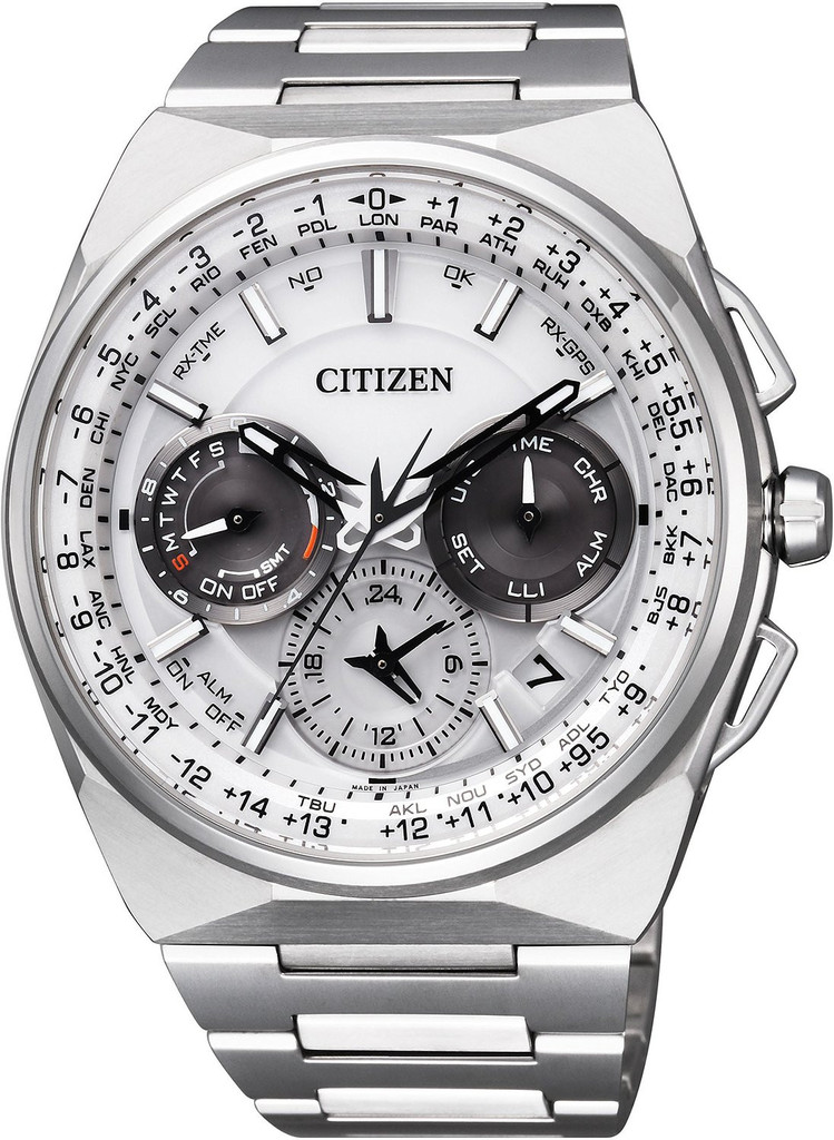 Affordable Stainless Steel Men's Watch- Citizen Satellite Wave F900