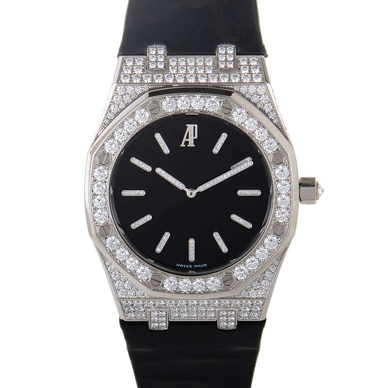 Audemars Piguet 18K White Gold and Diamonds Watch