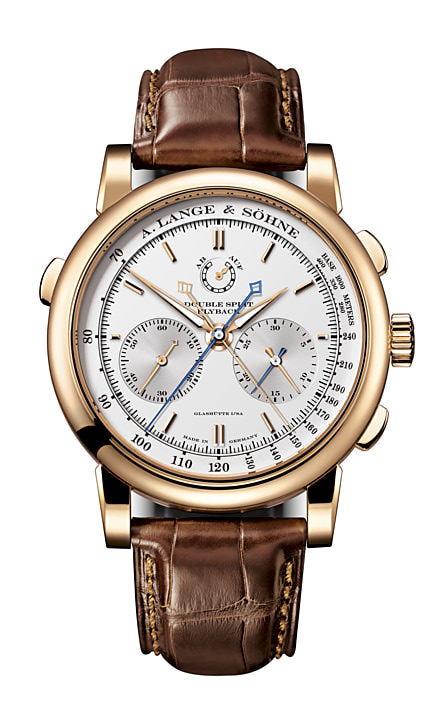 A Luxury Striking Watch With Two Pairs Of Stopwatch Hands- DOUBLE SPLIT