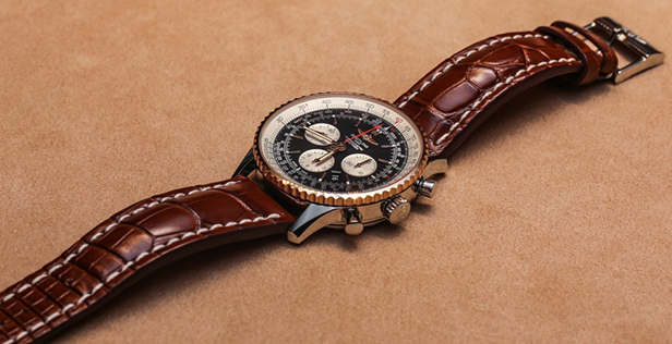 A Breitling Navitimer Watch Comes In 46mm-wide Case